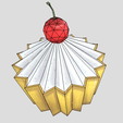 CubCake(Render)5.png Download free STL file Cup Cake stylized Low-poly • Model to 3D print, theworldentertainment