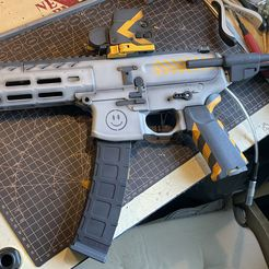Airsoft SMG body kit (MPX inspired) MIASMG1, bignose