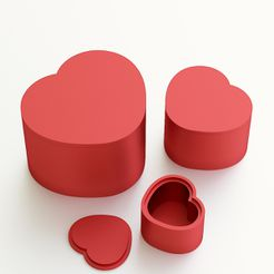 heart_box_jpg1.jpg Download STL file Heart box for gift • 3D printable object, VALIKSTUDIO