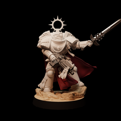 Primaris8.png Download free file warhammer captain • Object to 3D print, izzatwosly
