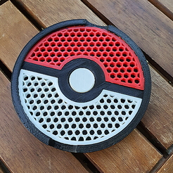 pokeball_2.png Download free STL file Pokeball Soap Dish • Design to 3D print, montalli