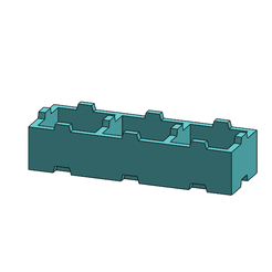 tego003.PNG Download free STL file Tego 3-pin • Template to 3D print, Thierryc44