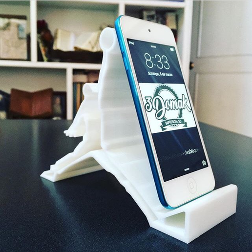 IMG_6840.PNG Download STL file Cell Phone Iphone Stand • 3D printer template, 3domak