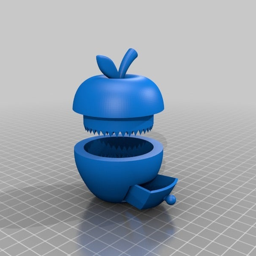 063955ebedde9e367b406a733f52ad6f.png Download free STL file flawless apple grinder with box • 3D printer template, syzguru11