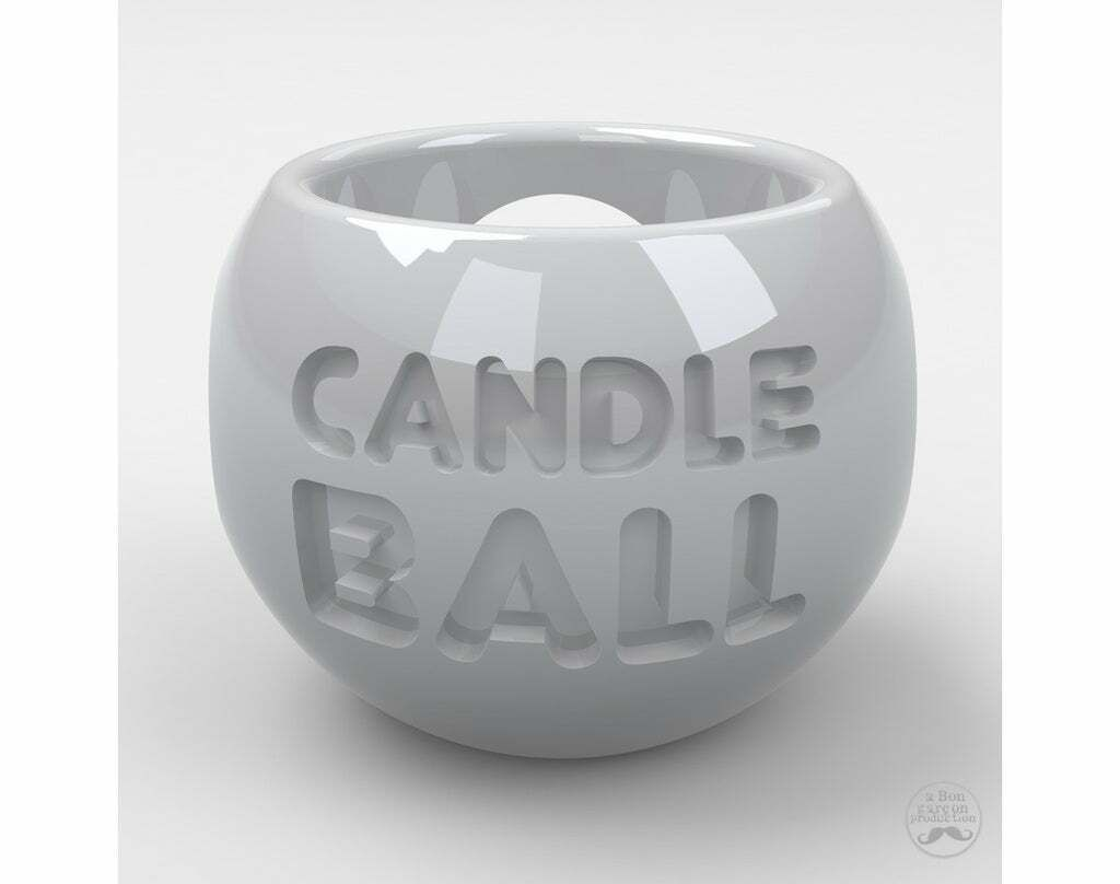 CandleBall-06_kopie.jpg Download free STL file Candle Ball for various sizes candles • 3D printable model, BonGarcon