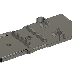 H6 1.png Download STL file Zoom H6 battery Holder • Object to 3D print, Fandotec