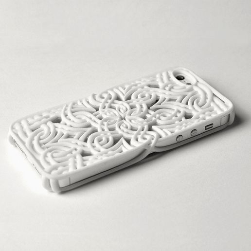 lotus_iphone_5_-_3.jpg Download STL file Lotus Case for the iPhone 5/5S • 3D printable object, Genghis