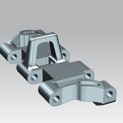 1.jpg Download STL file MOVABLE PZ.KPFW. III/IV TYPE 3(A) TRACK LINK FOR 3D PRINTING IN 1:35 SCALE • Template to 3D print, szakalaka813