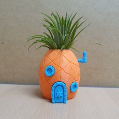 KakaoTalk_20191101_193800563.jpg Download free STL file Spongebob Pineapple House Planter • 3D printer template, mad_engineer