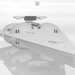 1.PNG Download 3DS file Interdictor Class Star Destroyer • 3D printable design, ronaldocc13