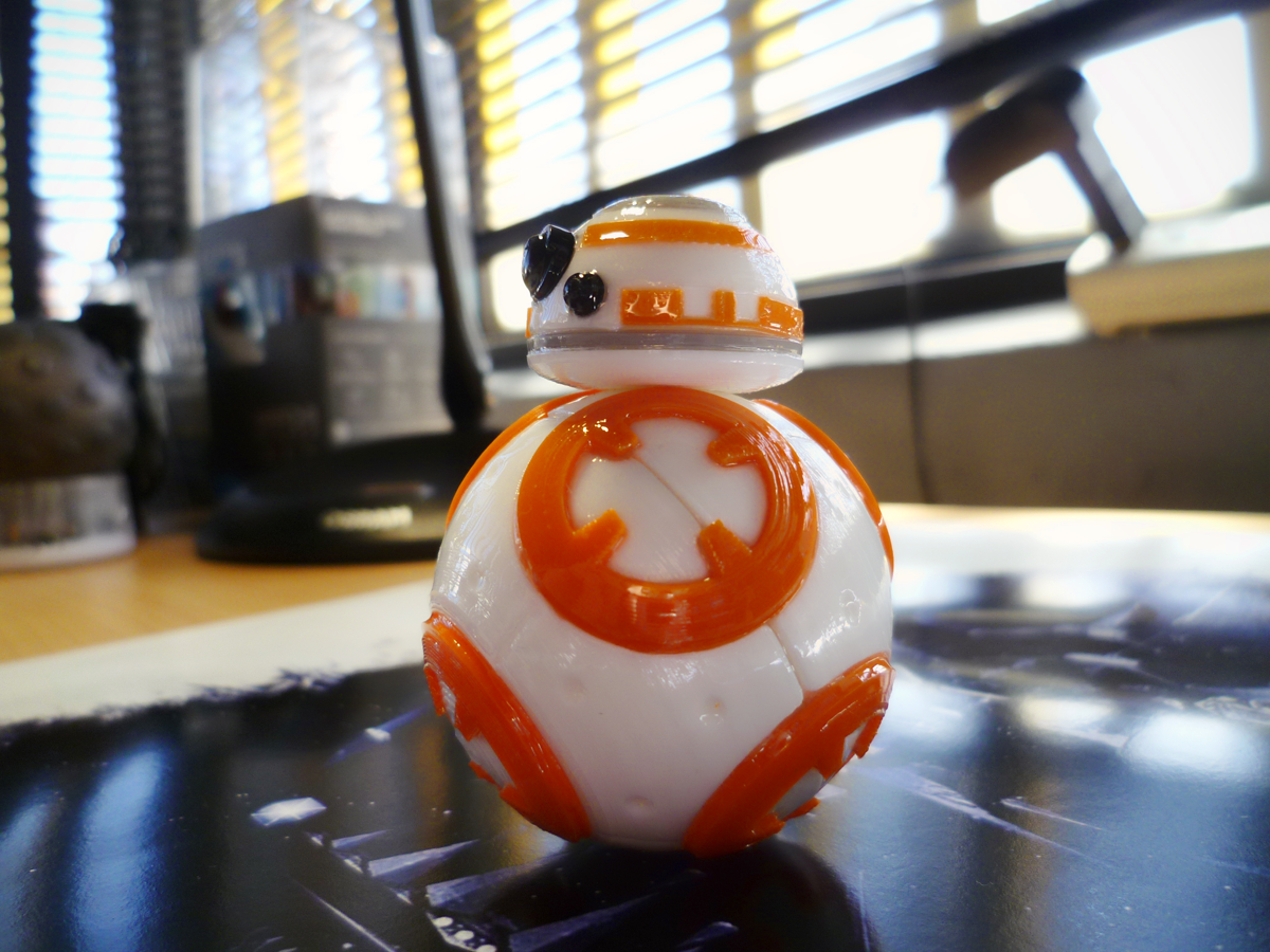 bb8-print03.png Download free STL file BB8 Droid - Star Wars: The Force Awakens  • Template to 3D print, Maxter
