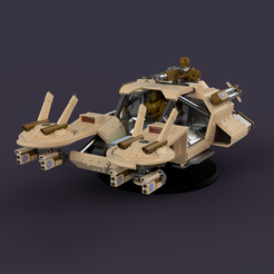 Pirhanna_2021-Jan-16_07-29-55PM-000_CustomizedView18829556387.png Download STL file Hover Humvee for humans that have defected to the space communists • Model to 3D print, downtown3d