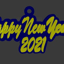 2021 1.jpg Download STL file Happy new year 2021 • 3D printable object, subicomputerpblr