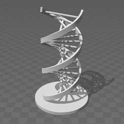 ADN.png Download OBJ file DNA • 3D printer template, Yunorga