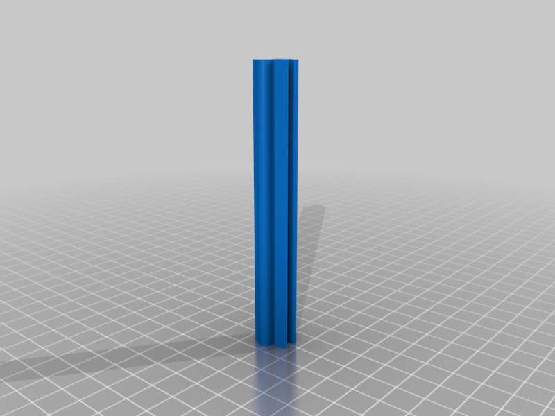 Nats_10_degree_extrusion.png Download free STL file 10mm slide in LED strip mount for Kossel Linear Plus 10 degree angle • 3D printing template, gnattycole