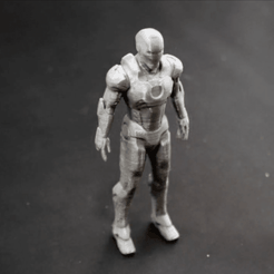 Capture d'écran 2018-04-10 à 17.21.28.png Download free STL file IRON MAN ( Mark 7 ) • 3D printable model, TheTNR