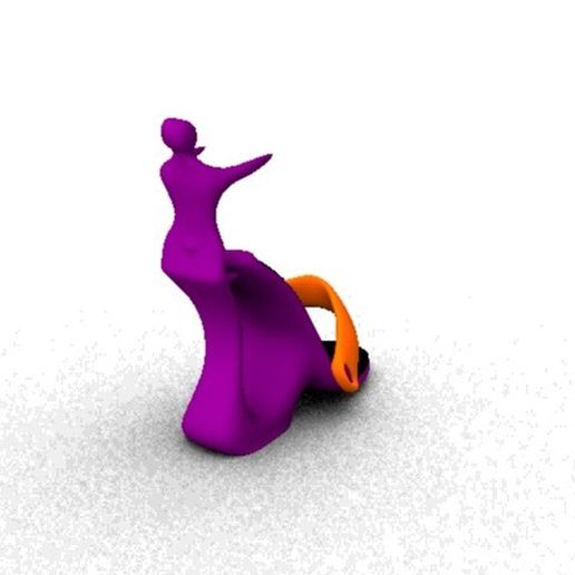 sirena_maschio.jpeg Download STL file shoe with sirena man • 3D printing object, 3tte
