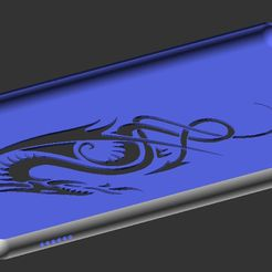 firehd8dragon.png Download free SCAD file Fire HD 8 Case • 3D print template, gcodeprintr