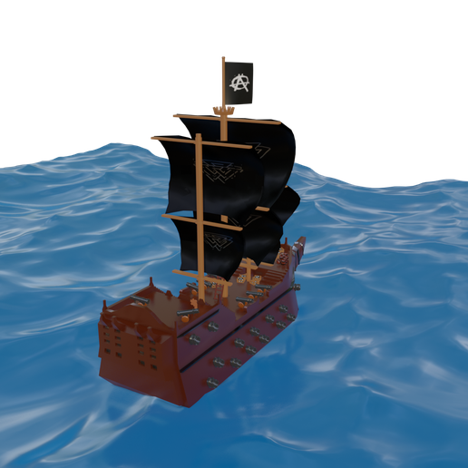 barco4.png Download free file Pirate ship • Design to 3D print, alextab