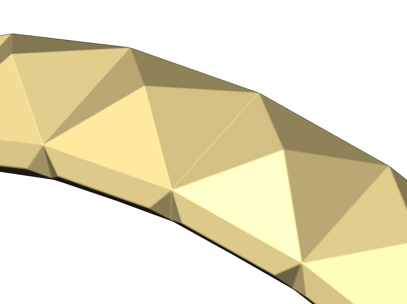 Pyramid-facet-band-0000.jpg Download 3MF file Pyramid pattern band US size 5to11 3D print model • 3D printing design, RachidSW
