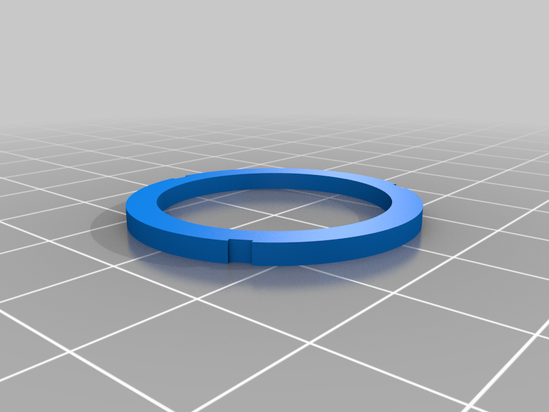 top_ring.png Download free STL file Lily of the valley / Muguet support • Model to 3D print, DaGoN