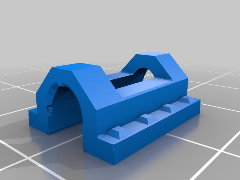Minecart_Axle_Clamp.png Download free STL file 28mm D&D Flatbed Mine Wagon • 3D printing object, Alonicus