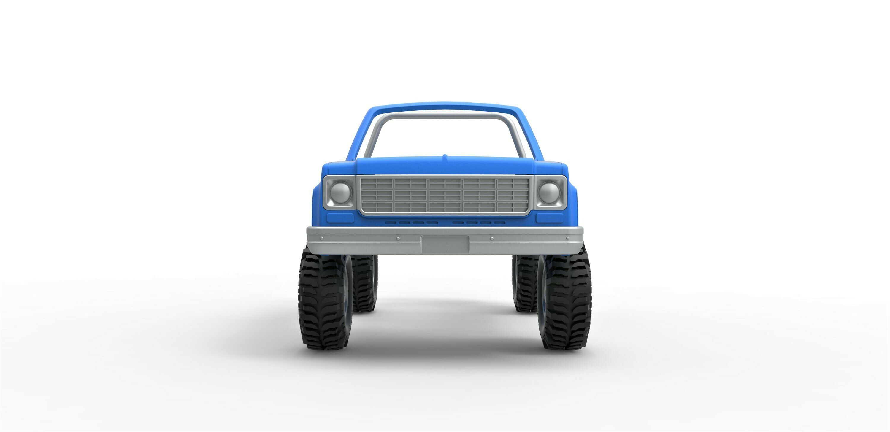 6.jpg Download STL file Diecast shell and wheels Chevrolet Blazer K5 1978 cabriolet Scale 1:25 • 3D printing template, CosplayItemsRock