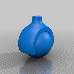 c90abcf4e100ce56ca9ce308ae9b4cce.png Download free STL file ball roll with mount • 3D print object, syzguru11
