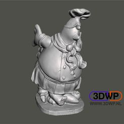 Chicken.jpg Download free STL file Chicken Figurine (Statue 3D Scan) • 3D print design, 3DWP