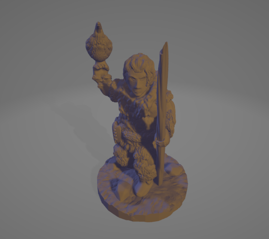 Ice-Age-Dynamic-Falconer.png Download STL file Ice Age Dynamic Falconer • 3D printer design, Ellie_Valkyrie