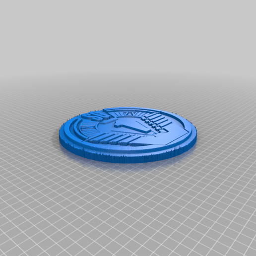SG1Patch10cm.png Download free STL file Stargate SG1 Patch Plaque / Sign • 3D print template, longpaul395