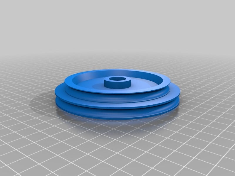 476d0d40ef692c7595900bca87c192cd.png Download free SCAD file Emco Unimat 3 low and high speed pulley set • 3D printer design, 1944GPW