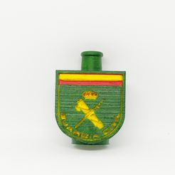 1607591387057 (1).jpg Download STL file Guardia Civil bong mouthpiece • 3D printing object, rcarrasquel88