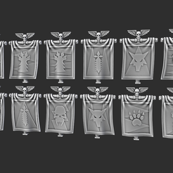 Screenshot 2021-01-07 165231.png Download STL file SW Classic Backpack Banner • Template to 3D print, Red-warden-miniatures
