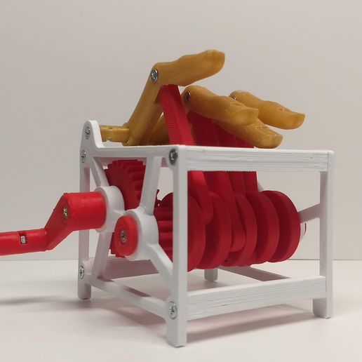 IMG_20191230_160018514.jpg Download free STL file Tapping Fingers Machine • 3D printable object, EL3D