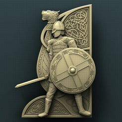 1153. Viking.jpg Download free STL file Viking • 3D printer object, stl3dmodel