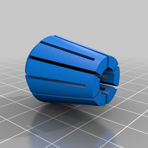 8mm_Collet_remix.png Download free STL file Collet Drill Stop (4/6/8/10/12mm) • 3D printing object, ftaysse