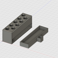Dremel_Collets_Holder_v2_00.png Download free STL file Dremel collets holder • 3D printer model, krug3r