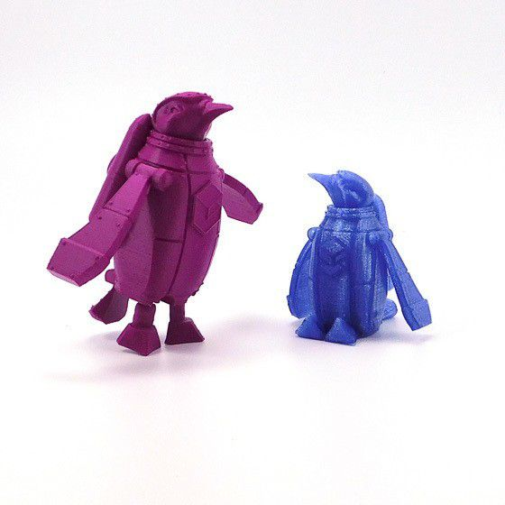 purple_and_blue_3.jpg Download free STL file SnoLabs Penguin • 3D printer object, SnoLabs3D