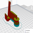 sliced_filament_guide.PNG Download free STL file Filament guide Creality CR-10S Pro (print in place & clip-on) / Filamentführung • 3D printer object, plugandplay