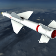 02.png Download 3DS file Vympel R23 Missile • 3D printable object, SimonTGriffiths