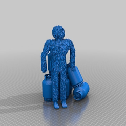 1f3e0297a8d04a20a99bf4e21286e65d.png Download free STL file yeti and his stolen gas containers • 3D printer object, syzguru11