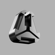 clip.png Download free STL file Oculus Touch strap easy pass through with clip-on top • 3D print object, ThatJoshGuy