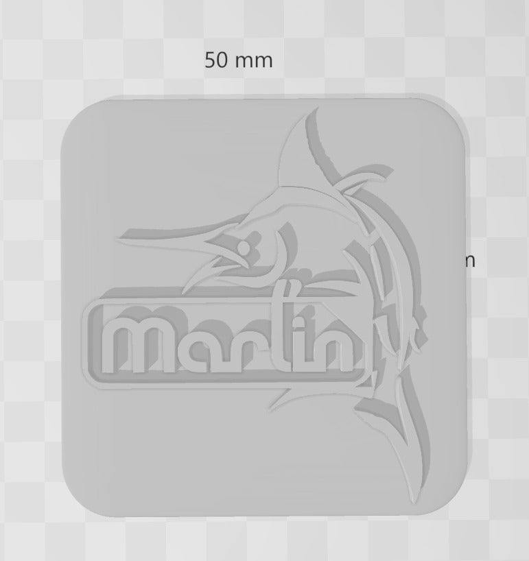 4.png Download free STL file Marlin Firmware Logo With Fish • 3D print object, isaac7437