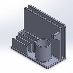 WhatsApp Image 2021-02-05 at 17.06.28.jpeg Download STL file Office equipment stand • Template to 3D print, omermeshy