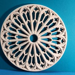 20191209_163104.jpg Download free STL file Rosace de Poitiers • 3D printing object, NOP21