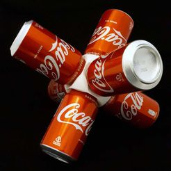 6_latas.jpg Download free STL file Soda Can Exhibit! • Object to 3D print, xutano