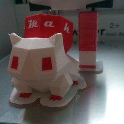 IMAG1107.jpg Download free STL file Grand Brother of Bulbasaur • 3D printer object, team6maker
