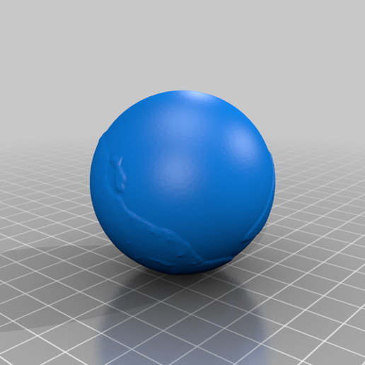 earth_445Mya_1_25_10_7.png Download free STL file Earth from 540 to 20 Mya scaled one in sixty million • 3D printable design, tato_713