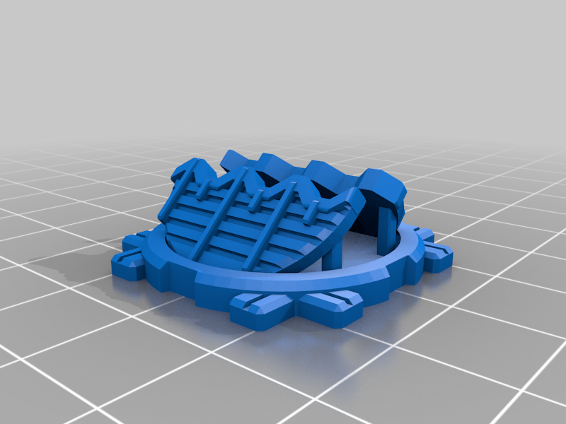 IndustrialHatch_B.png Download free STL file Industrial Hatch Counters • 3D printable object, Dutchmogul